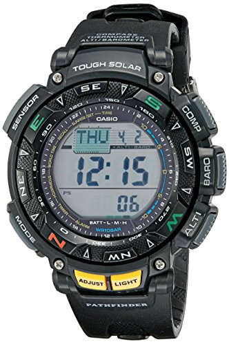 Casio Men's Pathfinder Solar Powered Triple Sensor Sport Watch