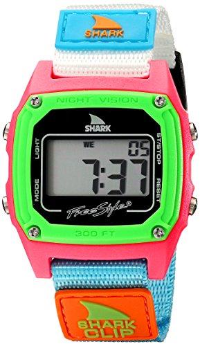 Freestyle Shark Classic Clip Black/Neon Unisex Watch