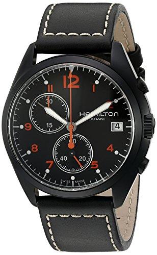 Hamilton Men's 'Khaki Avaition' Quartz Stainless Steel Casual Watch