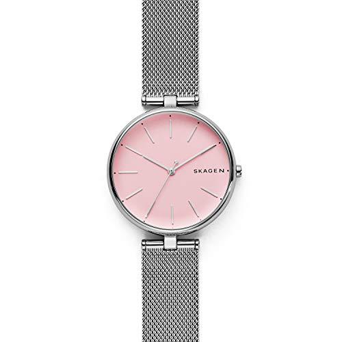 Skagen Women's Quartz Stainless Steel Casual Watch, Color:Silver-Toned