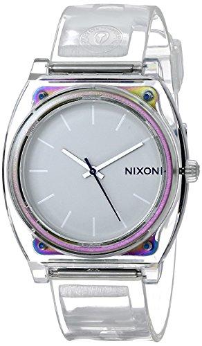 Nixon Men's 'Time Teller P Translucent' Quartz Plastic Casual Watch