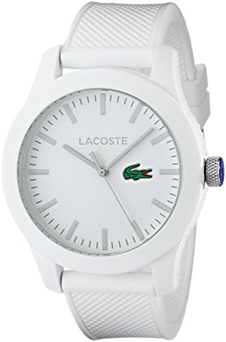 Lacoste Men's Lacoste.12.12 White Watch with Textured Band