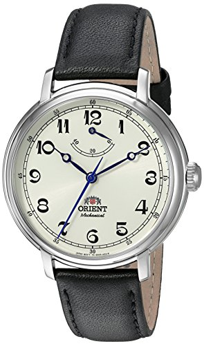 Orient Men's 'Monarch' Mechanical Hand Wind Stainless Steel