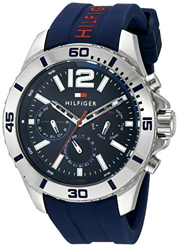Tommy Hilfiger Men's Cool Sport Analog Display Quartz Blue Watch