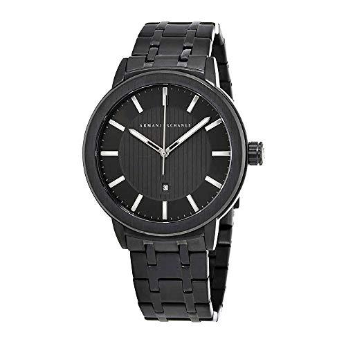 Armani Exchange Men's Street Black Watch