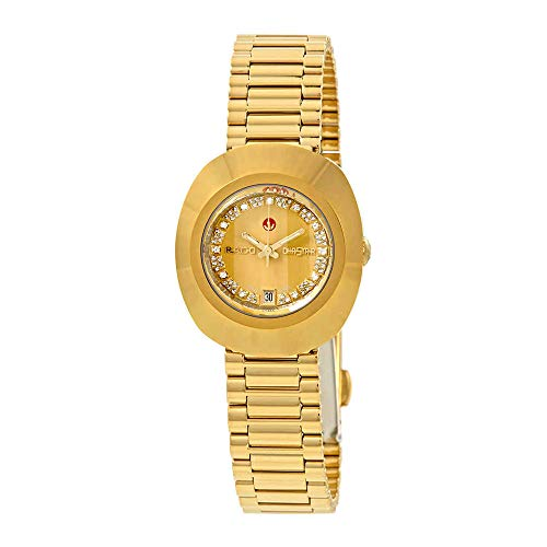 Rado The Original S Automatic Gold Dial Ladies Watch