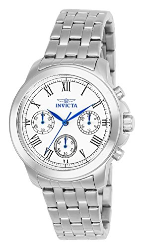 Invicta Women's Specialty Analog Display Swiss Quartz Silver-Tone Watch