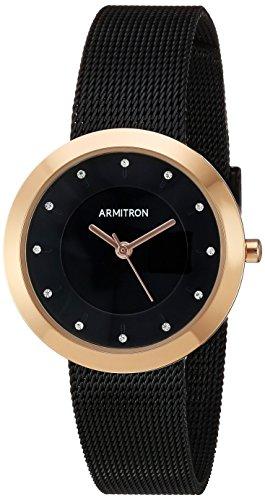 Armitron Women's Swarovski Crystal Accented Rose Gold-Tone Watch