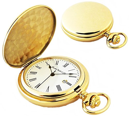 Dueber Watch Co Gold Plated Hunting Case Pocket Watch