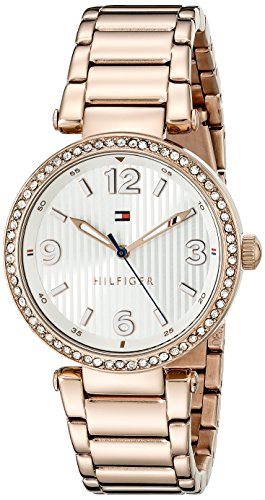 Tommy Hilfiger Women's Analog Display Quartz Gold Watch