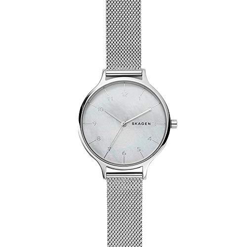 Skagen Women's Analog-Quartz Watch with Stainless-Steel Strap, Silver