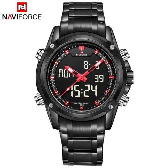 New Naviforce Fashion Watches Men Luxury Brand Men's Quartz Hour