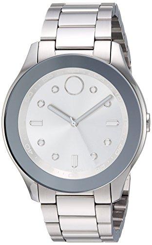 Movado Women's Swiss-Quartz Watch with Stainless-Steel Strap