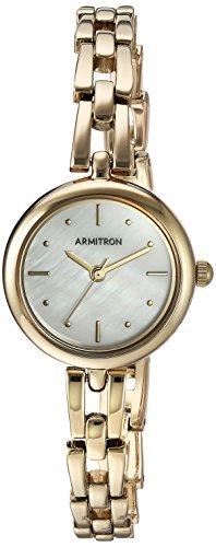 Armitron Women's Gold-Tone Bracelet Watch
