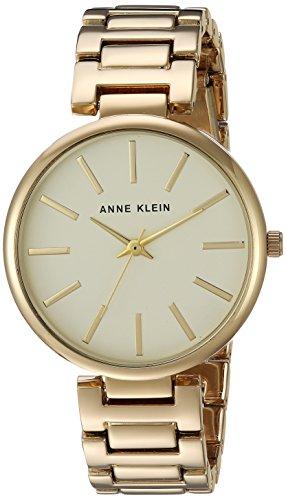 Anne Klein Women's Gold-Tone Bracelet Watch