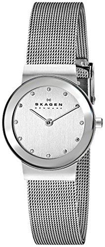 Skagen Women's freja Quartz Stainless Steel and mesh Watch
