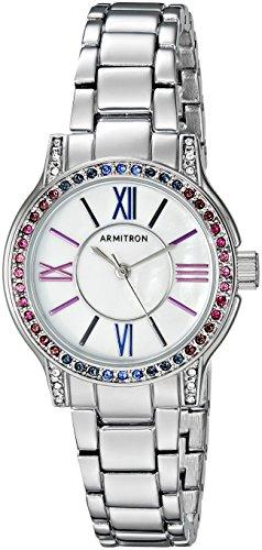 Armitron Women's Multi-Color Swarovski Crystal Watch