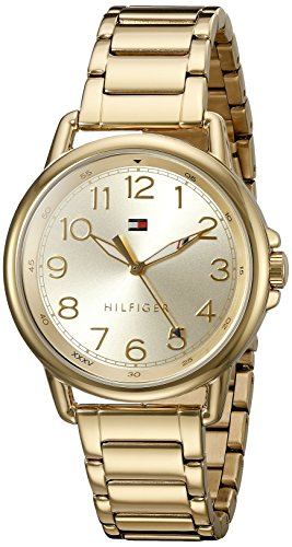 Tommy Hilfiger Women's Casey Quartz Gold-Plated Casual Watch
