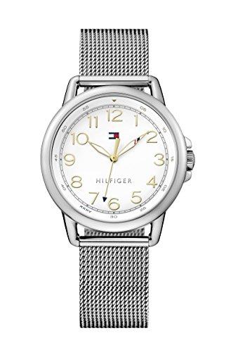 Tommy Hilfiger Women's Casey Analog Display Japanese Quartz Silver Watch