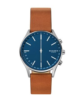Skagen Connected Men's Holst Titanium and Leather Hybrid Smartwatch
