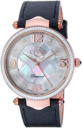GV2 by Gevril Sassari Womens Diamond Swiss Quartz Watch