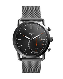 Fossil Q Men's Commuter Stainless Steel Mesh Hybrid Smartwatch