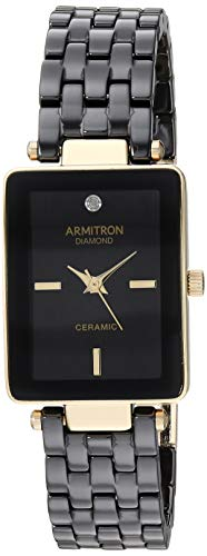 Armitron Women's Diamond-Accented Gold-Tone Watch