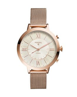 Fossil Q Jacqueline Stainless Steel Mesh Hybrid Smartwatch
