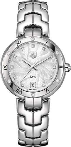 TAG Heuer Women's Link Analog Display Swiss Quartz Silver Watch