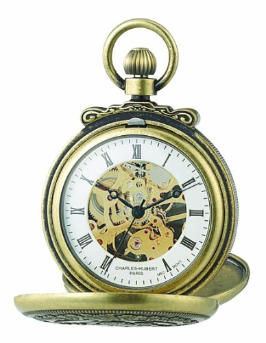 Charles-Hubert Paris Classic Mechanical Pocket Watch