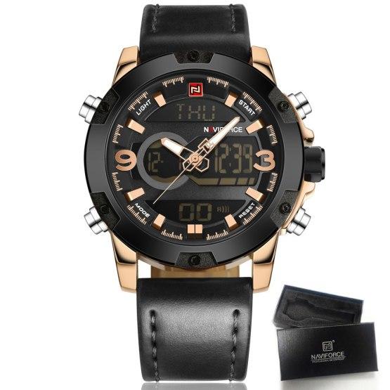 Watches Men NAVIFORCE Brand Men Sport Watches