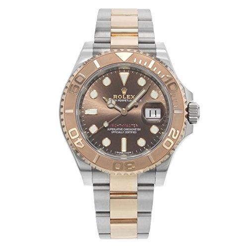 Rolex Yacht-Master Chocolate Dial Steel Mens Watch