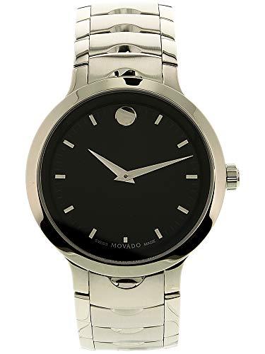 Movado Luno 0607041 Silver Stainless-Steel Swiss Quartz Fashion Watch