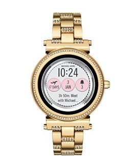 Michael Kors Access, Women's Smartwatch, Sofie Gold-Tone Stainless Steel