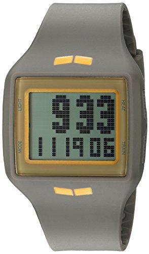 Vestal Unisex Helm Digital Display Quartz Grey Watch