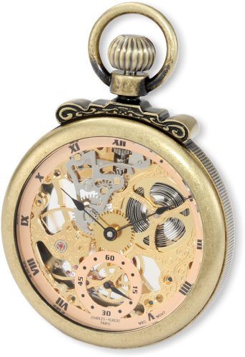 Charles-Hubert, Paris Classic Collection Mechanical Pocket Watch