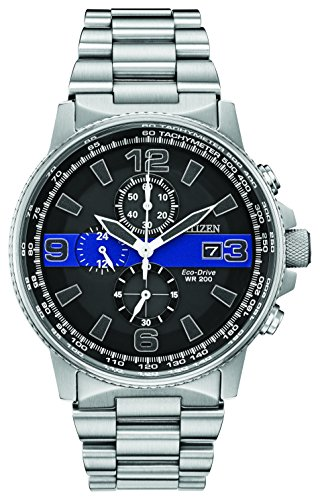 Citizen Men's Thin Blue Line Watch Chronograph