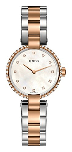 Rado Coupole Two Tone Mother of Pearl Diamond Dial Women's Watch