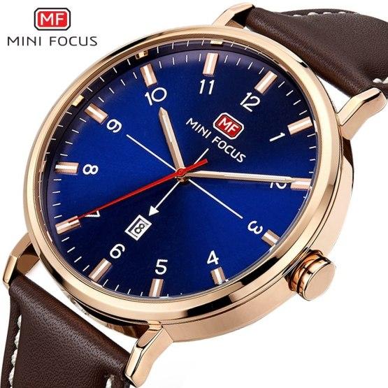 MINI FOCUS 2019 New Quartz Watch Top Brand Fashion Men Watch