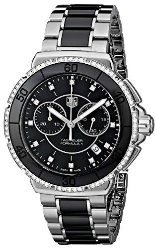 TAG Heuer Women's Formula One Black Diamond Chronograph Watch