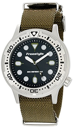Freestyle Ballistic Diver Olive Unisex Watch