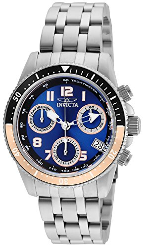 Invicta Women's Pro Diver Quartz Watch with Stainless-Steel Strap, Silver