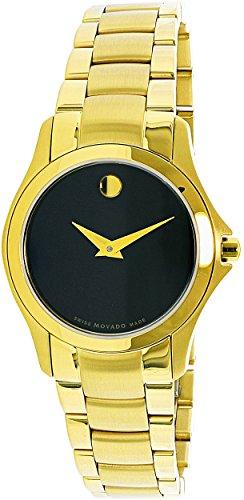 Movado Women's Masino Gold Stainless-Steel Swiss Quartz Fashion Watch