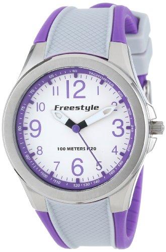 Freestyle Women's Sport Round Analog Strap Purple Watch