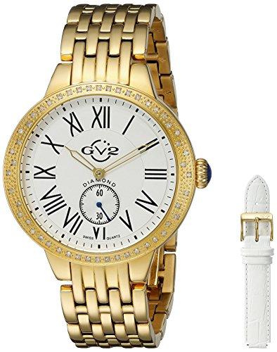 GV2 by Gevril Astor Womens Diamond Swiss Quartz Watch