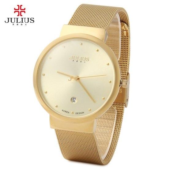 Top Watches Men Luxury Julius Brand Men's Watches Stainless Steel