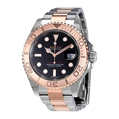 Rolex Yacht-Master Automatic Black Dial Mens Watch