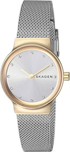 Skagen Women's Freja Quartz Two-Tone Stainless Steel Mesh Casual Watch