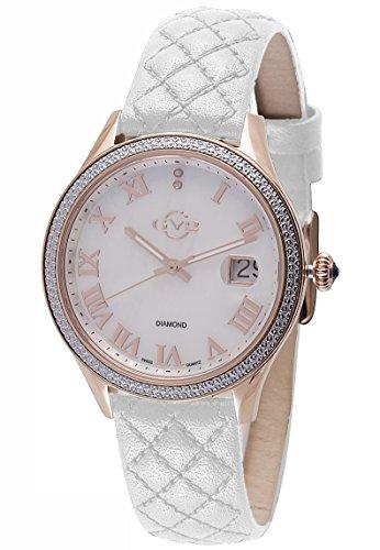 GV2 by Gevril Asti Womens With Diamonds Swiss Quartz Watch