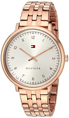 Tommy Hilfiger Women's SPORT Quartz Rose Gold-Tone Casual Watch